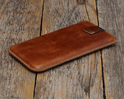 Personalized Leather Slip Case works with Sony Xperia XZ1 XA2 Plus L1...