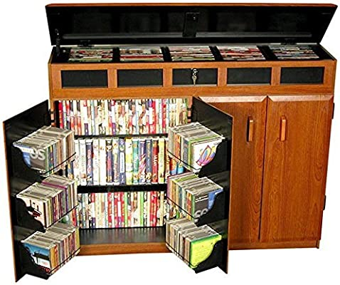 Venture Horizon Top Load Media Cabinet  Cherry