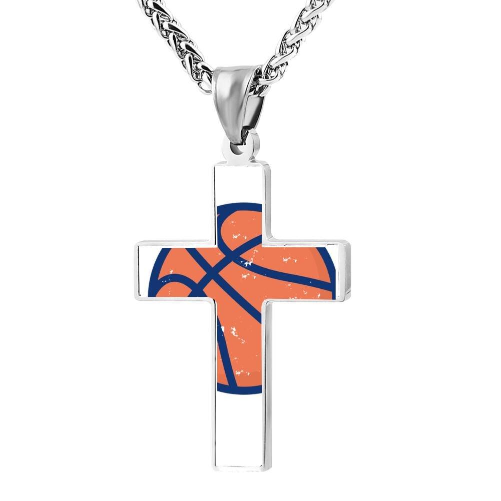 Kenlove87 Patriotic Cross Vintage Distressed Religious Lord'S Zinc Jewelry Pendant Necklace