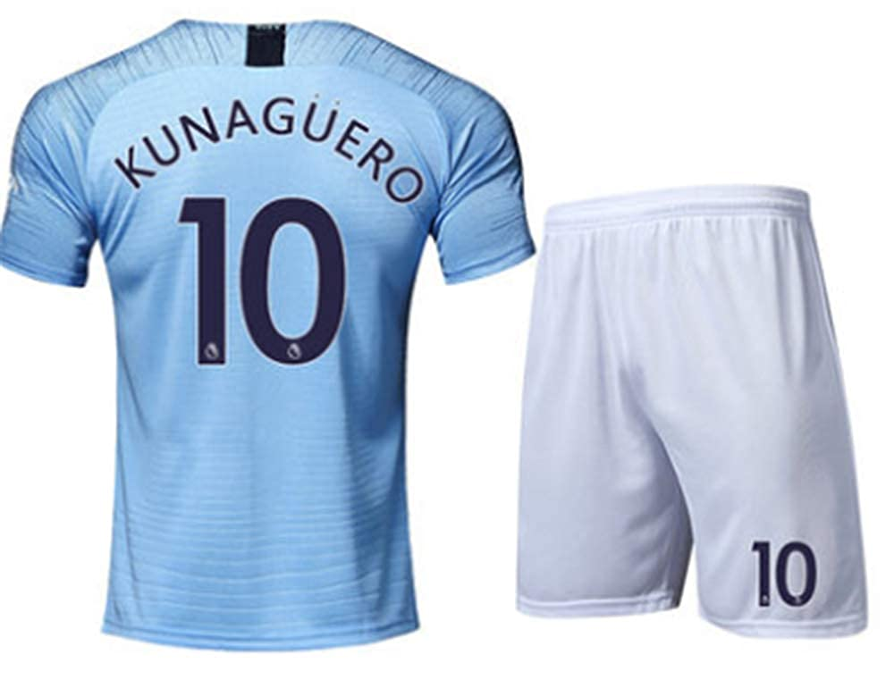 sneakers for cheap 3b34e d2347 LISIMKE Soccer Team 2018/19 Manchester City Home Kun Aguero ...