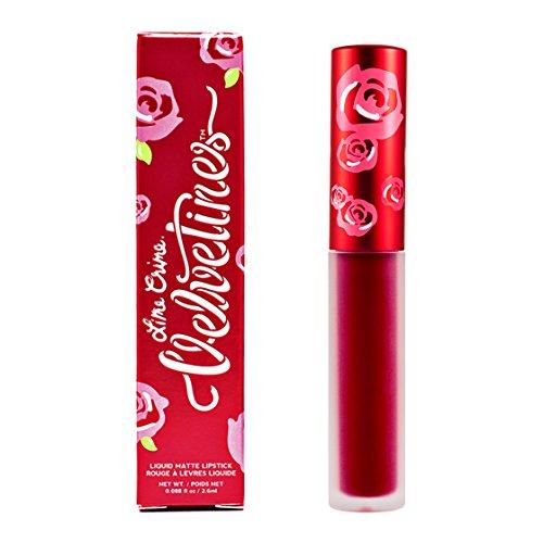 Lime Crime Velvetines Long Lasting Liquid Matte Lipstick - Red Rose