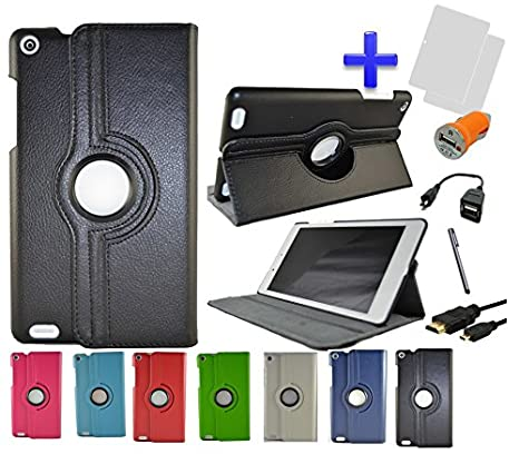 Pack 7 en 1 Funda para Tablet Bq Edison 3 Mini 8