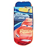 Readybed Disney Cars Junior Inflatable Kids Air Bed and Sleeping Bag in one