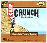 CLIF CRUNCH - Granola Bar - Chocolate Peanut Butter - (1.5 oz, 5 Two-Bar Pouches) by Clif Crunch Granola Bar