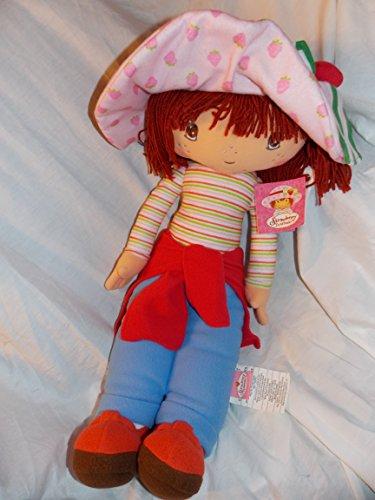 "2005 Large 26"" Strawberry Shortcake Cuddle Pillow Doll"
