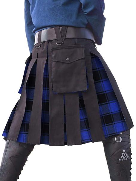 Amazon.com: Taoliyuan - Disfraz de escocés para hombre ...