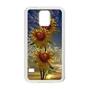 AinsleyRomo Phone Case Sunflowers art case For Samsung Galaxy S5 FSQF477116
