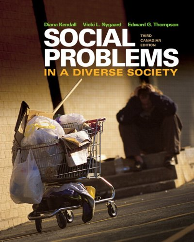 Social Problems in a Diverse Society, Third Canadian Edition with MySocKit (3rd Edition)