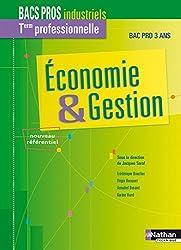 Économie & Gestion -Term professionnelle Bac Pro industriel
