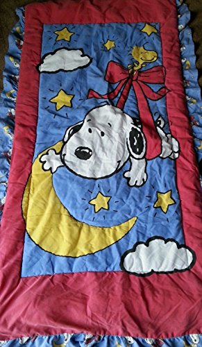 Peanuts Baby Snoopy Quilt, Blanket, Comforter, Lovey (Snoopy Costume For Baby)