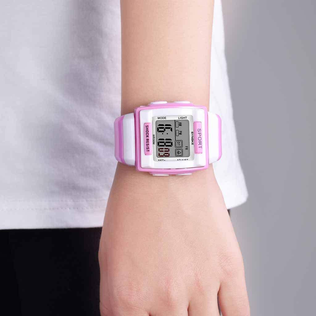 Reloj Digital Niños y Niñas Analógico Relojes para Niños ...
