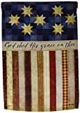 Cheap Carson Home Accents Garden Flag, God Shed His Grace