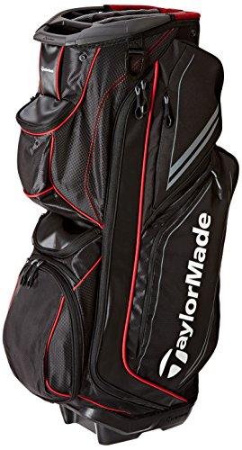 Catalina Bag Cart - TaylorMade TM15 Catalina Golf Cart Bags, Black/Gray/Red