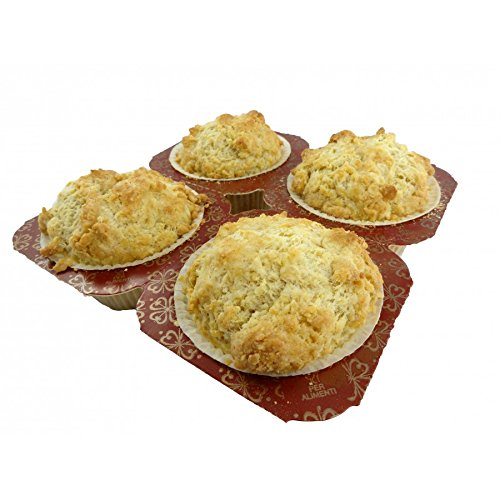 (Low Carb Biscuits (4 Pack) - Fresh Baked - LC Foods - All Natural - No Sugar - Diabetic Friendly)