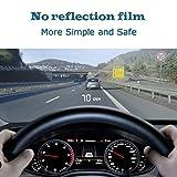 "Car HUD Head up Display 3.5"",OBD2/EUOBD Interface Plug & Play Measure Driving Speed"