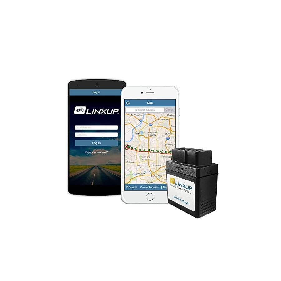 Linxup OBD GPS Tracker with Real Time 3G GPS Tracking, Car Tracking Device and Car Locator, Car GPS LPVAS1 No Contracts