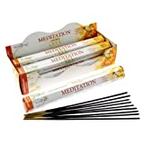 Stamford Meditation Incense, 20 Sticks x 6 Packs by Stamford