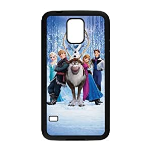 C-EUR Customized Print Frozen Hard Skin Case Compatible For Samsung Galaxy S5 I9600