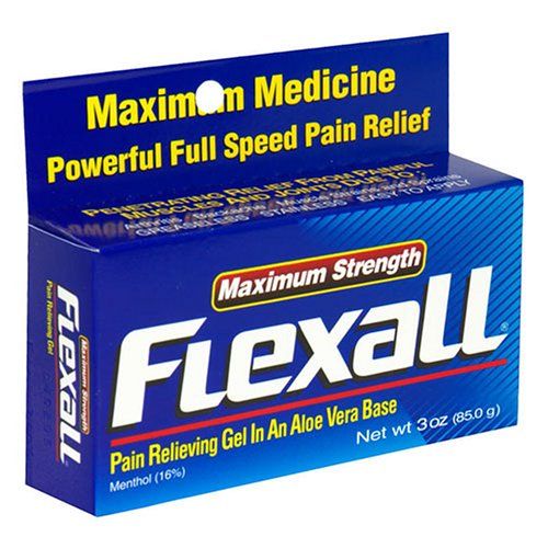 Flex-All Max Strength Topical Analgesic Cream 3 ounce