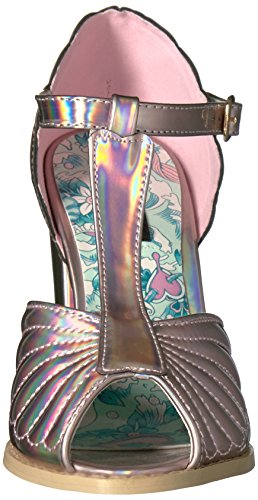 Iron Fist Mother Of Pearls Heel - Plataforma Mujer Rosa (Pink)