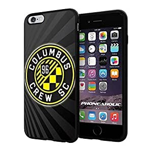 "Soccer MLS Columbus Crew SC LOGO SOCCER FOOTBALL, Cool iphone 4s (+ ,"") Smartphone Case Cover Collector iphone TPU Rubber Case Black"