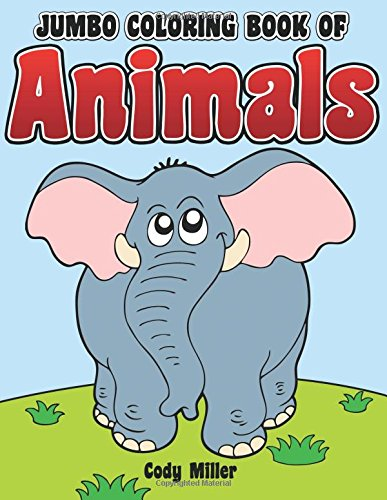 Jumbo Coloring Book Animals Miller product image
