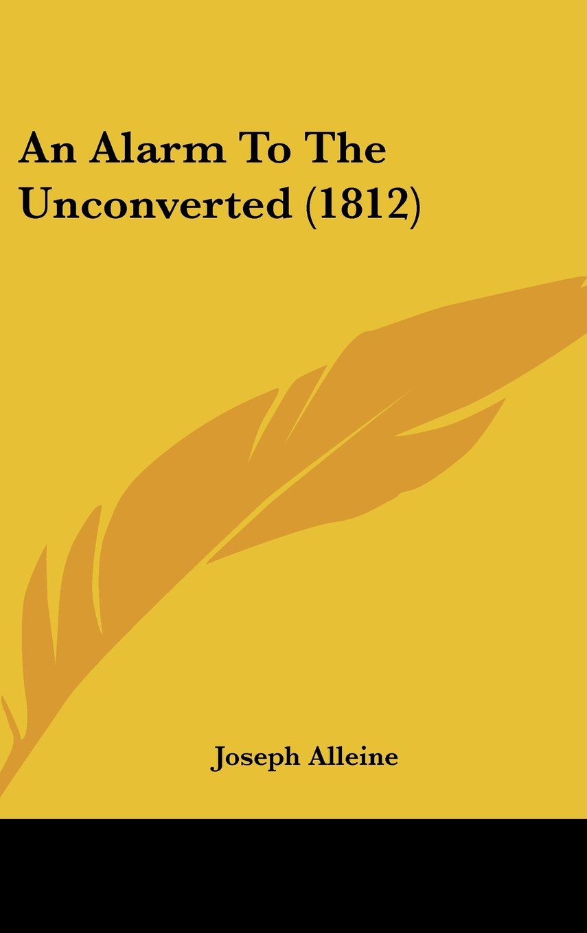 An Alarm To The Unconverted (1812) pdf epub
