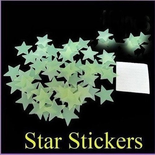 Luminous Noctilucent Decorative Stereoscopic Stickers
