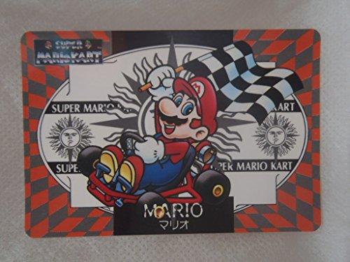 バンプレスト カードダス スーパーマリオ マリオカート