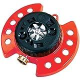 Dramm ColorStorm Turret 9-Pattern Sprinkler, Red
