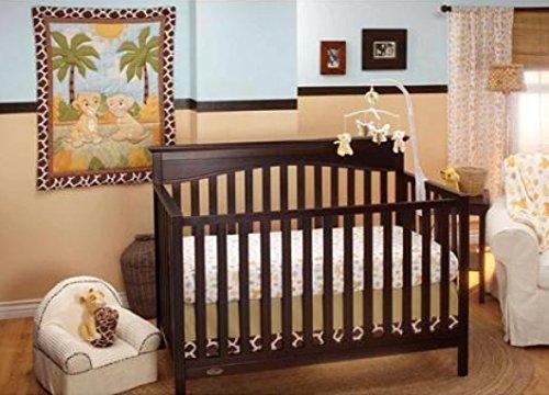 Baby Crib Bedding Sets Disney Lion King Jungle Fun 3-Piec...