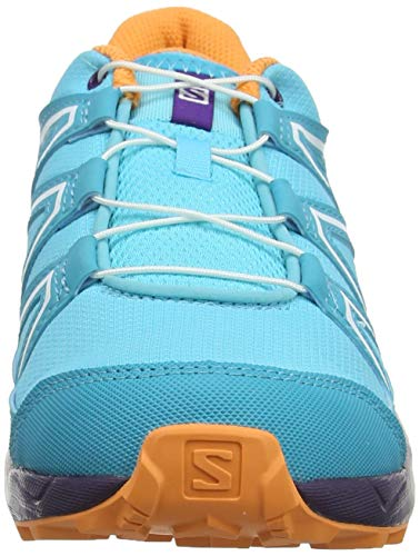 on sale ecae5 08503 Salomon Kinder Speedcross J, Trailrunning-Schuhe, blau ...