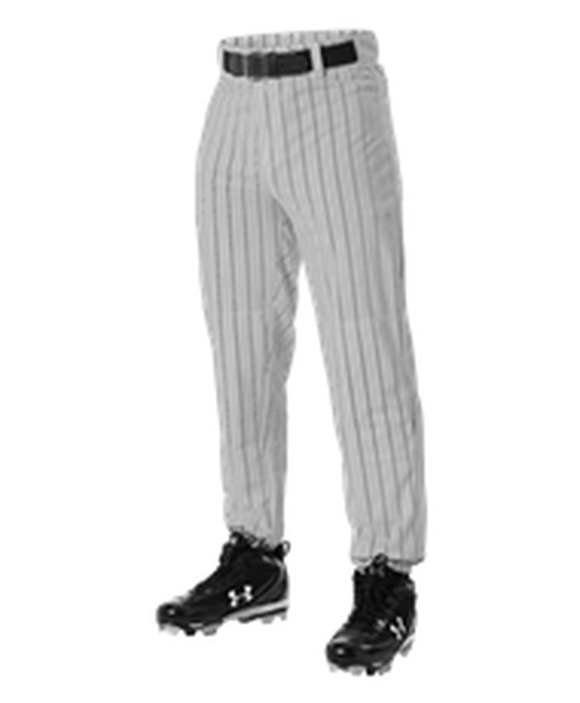 Alleson Athletic PANTS ボーイズ B0721S9VYT X-Large|Grey, Black Grey, Black X-Large