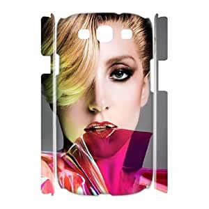 C-EUR Lady Gaga Customized Hard 3D Case For Samsung Galaxy S3 I9300 hjbrhga1544
