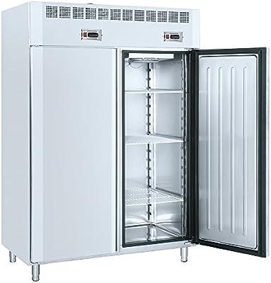 Macfrin 7535 Armario Dual Conservador-Congelador GN21 140X80 de 2 ...