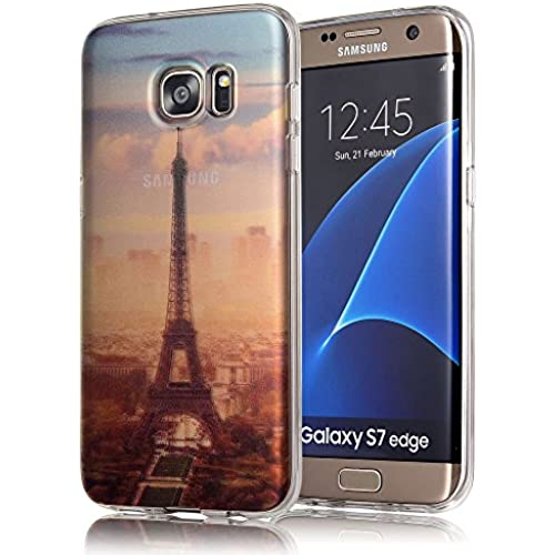 Galaxy S7 Edge Case, COSANO Premium Quality [UV print Semi-transparent Case] for Samsung Galaxy S7 Edge (5.5 inch Sales