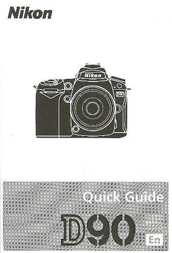 nikon d90 quick guide pocket size nikoncorp amazon com books rh amazon com ECG Pocket Guide Folding Pocket Guide