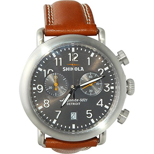 Shinola The Runwell Chrono Cool Grey Dial Mens Watch 12001113