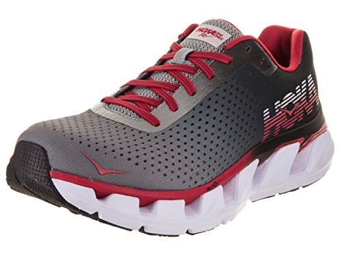 one Black racing M red HOKA one Elevon IdqIv