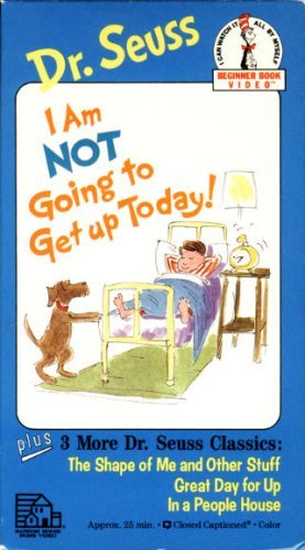 I Am Not Going To Get Up Today Vhs