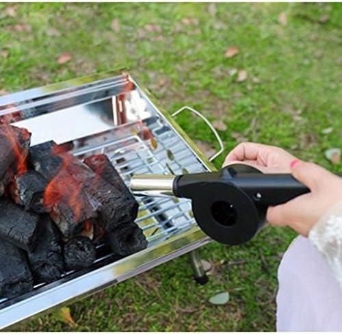 B Baosity Ventilateur De Ventilateur à Manivelle pour Barbecue