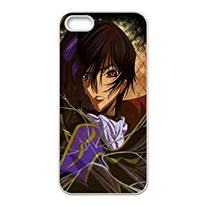 iPhone 5 5s Cell Phone Case White Code Geass Design DIY Phone Case Cover CZOIEQWMXN11755