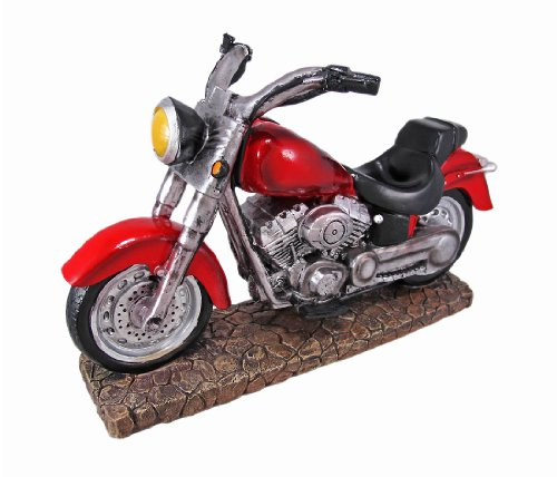 BL Gifts Imports Easy Rider V-Twin Motorcycle Wine Bottle Holder