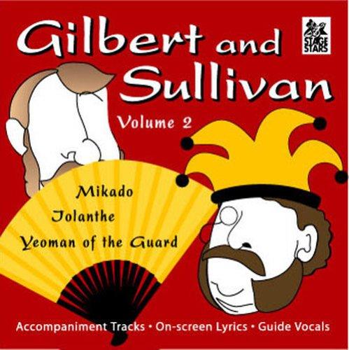 Stage Stars Gilbert & Sullivan Karaoke Backing Tracks Vol. 2 (Karaoke CDG)