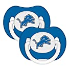 NFL Detroit Lions 2 Pack Pacifier (Discontinued by Manufacturer)