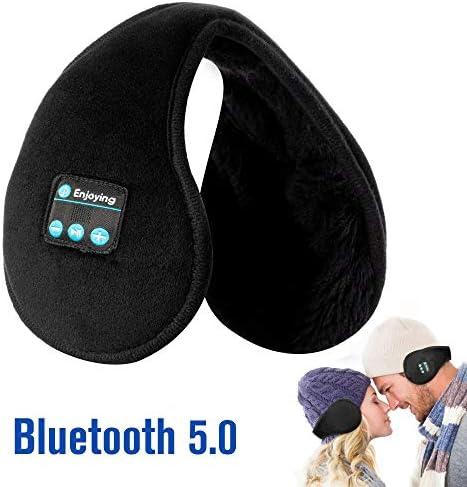 Bluetooth Earmuffs Headphones Foldable Microphone product image