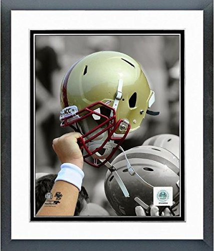 (Boston College Eagles Football Helmet Spotlight Photo (Size: 12.5