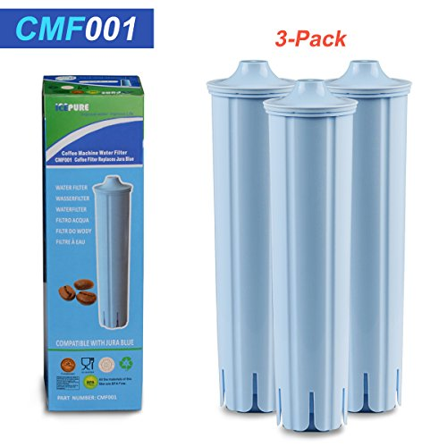 Holiday Promotions 3 PACK-Icepure CMF001 replacement water filter for Jura blue,Jura 71445 (Blue Pure Water Filter compare prices)