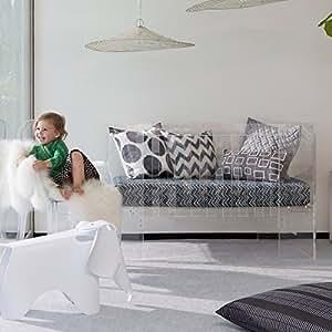 Amazon Com Nursery Works Vetro Crib Clear Acrylic Baby