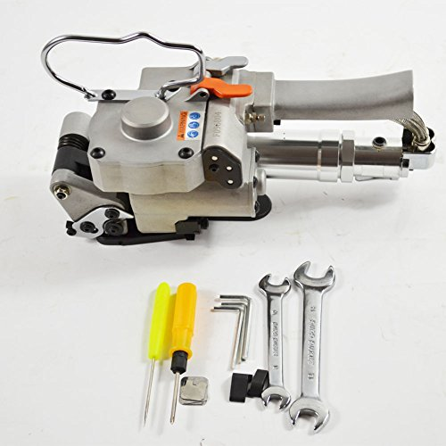 AQD-19 Hand-held Pneumatic Strapping Tools for 1/2''-3/4'' PP &PET Strapping Baler Package Packing Machine by Jiucheng